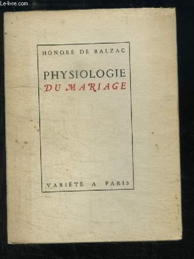Physiologie du Mariage (Axiomes)
