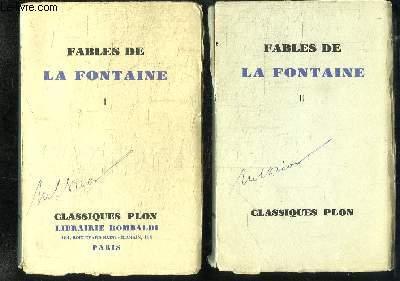 Fables de La Fontaine. EN 2 TOMES