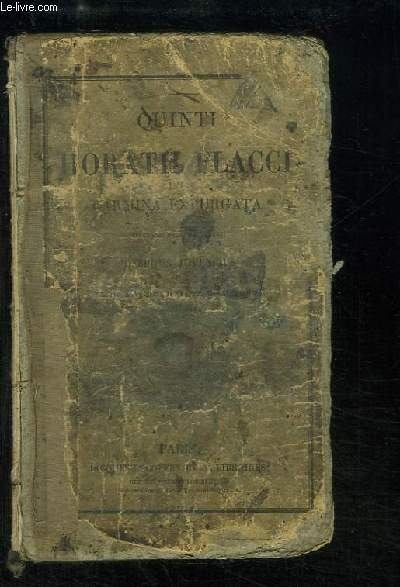 Quinti Horatii Flacci Carmina Expurgata