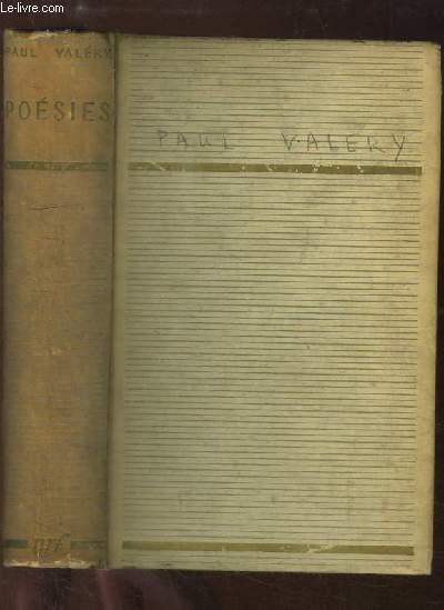 Poésies. Albums de vers anciens - La Jeune Parque - charmes - Pièces diverses - Cantate du Narcisse - Amphion - Sémiramis.
