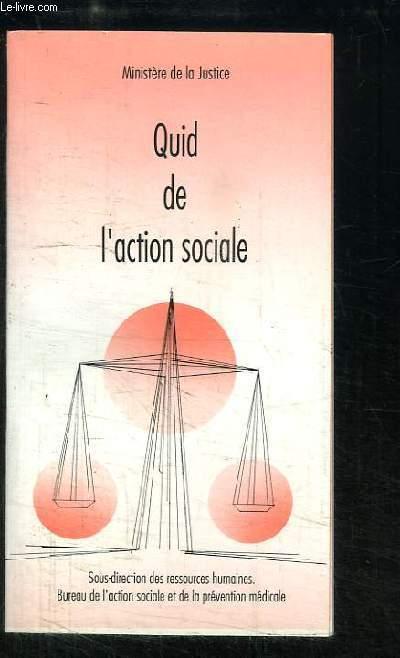 Quid de l'action sociale
