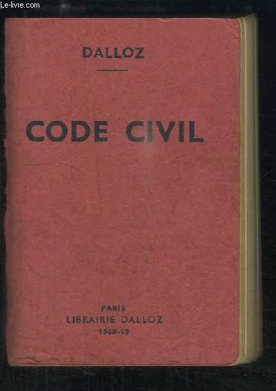 Code Civil, 1968 - 1969, annoté d'après la doctrine et la jurisprudence.