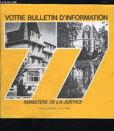 Votre Bulletin d'Information, 77