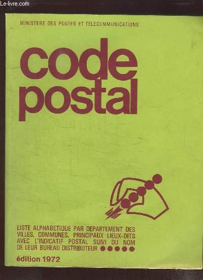Code Postal 1972