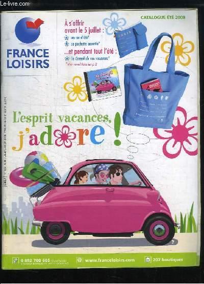 france loisirs catalogue