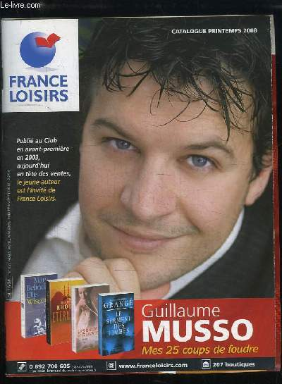 catalogue france loisirs avril mai 2008 catalogue sp cial adh rents privil gi s france loisirs. Black Bedroom Furniture Sets. Home Design Ideas