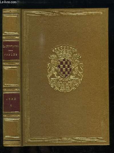 Fables de La Fontaine, illustrée par J.J. Grandville. TOME 1er.