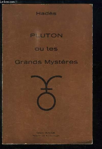 Pluton ou les Grands Mystères