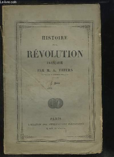 Histoire de la Révolution Française, 4ème partie