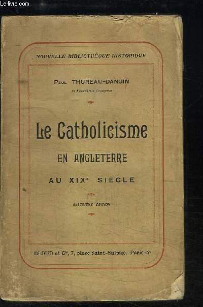 La Catholicisme en Angleterre au XIXe siècle