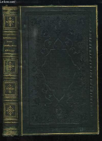 Essai sur la Littérature Anglaise, et Considérations sur le génie des hommes, des temps et des révolutions