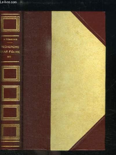Recherche d'une Eglise (Les Hommes de Bonne Volonté, n°7)