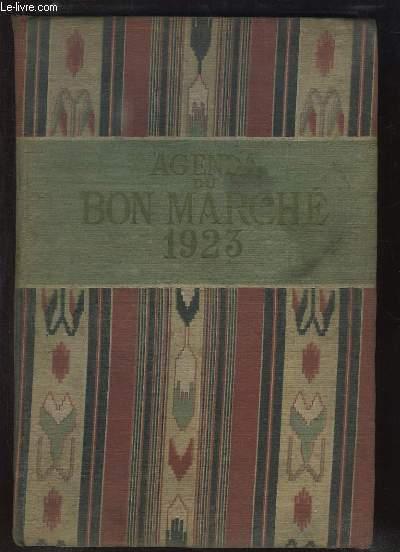 Agenda du Bon Marché, 1923