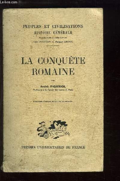 La Conquête Romaine.