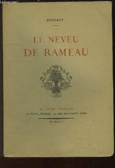 Le Neveu de Rameau.