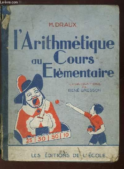 L'Arithmétique au Cours Elémentaire