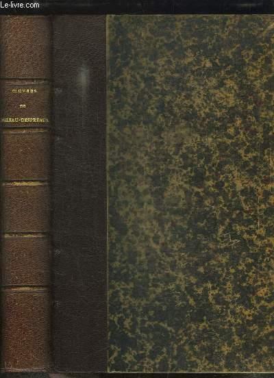 Oeuvres complètes de Boileau-Despréaux. Avec les notes de tous les commentateurs publiée par Paul CHERON. Précédée d'une notice sur la vie et les ouvrages de l'auteur, par SAINTE-BEUVE.