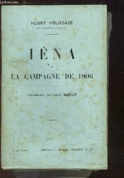 Iéna, et la Campagne de 1806