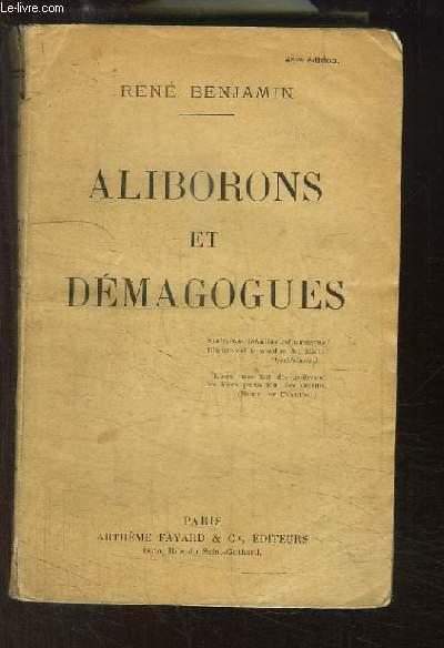 Aliborons et Démagogues.
