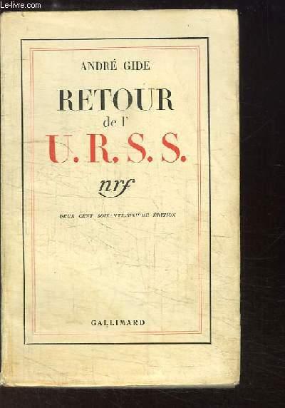 Retour de l'URSS