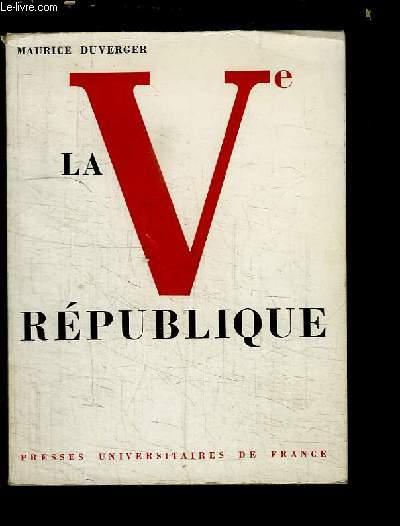 La Ve République.