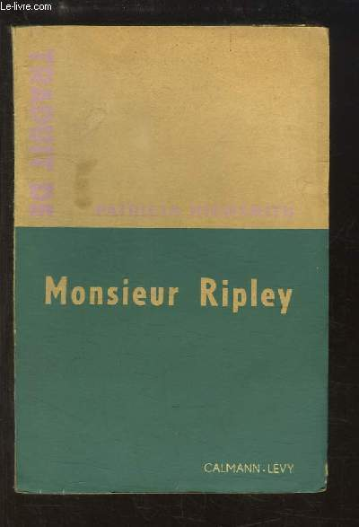 Monsieur Ripley (The Talented Mr Ripley)
