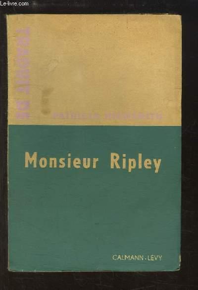 Monsieur Ripley (The Talented Mr Ripley)