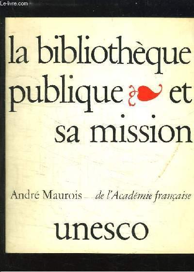 La Bibliothèque publique et sa mission