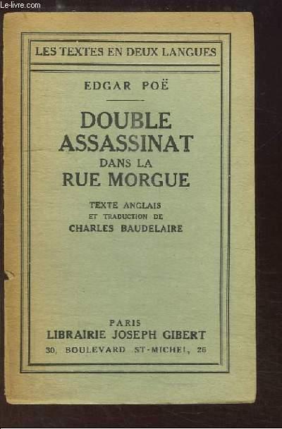 Double Assassinat dans le Rue Morgue