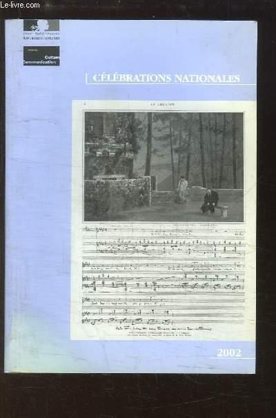 Célébrations Nationales 2002