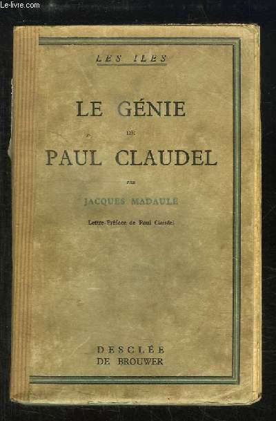 Le Génie de Paul Claudel