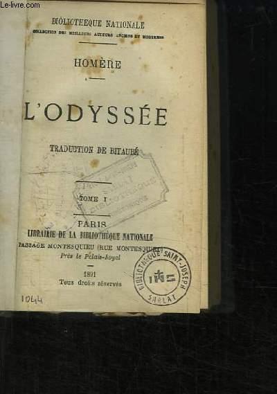 L'Odyssée. Traduction de Bitaubé. 3 TOMES EN UN SEUL VOLUME