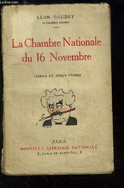 La Chambre Nationale du 16 Novembre. Portraits et Tendances.