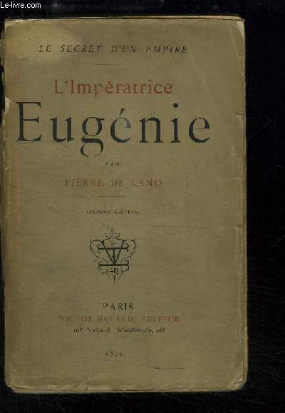 L'Impératrice Eugénie.