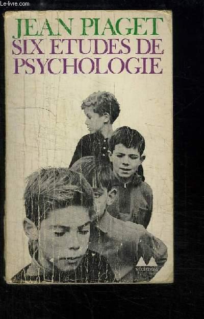 Six études de psychologie.