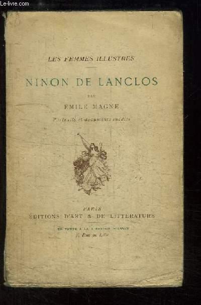 Ninon de Lanclos. Les Femmes Illustres.