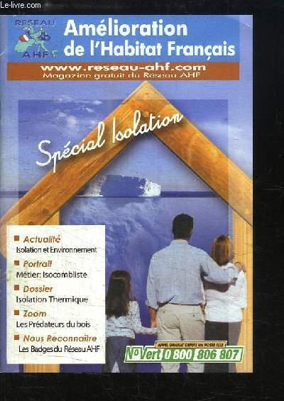am lioration de l habitat fran ais sp cial isolation reseau ahf. Black Bedroom Furniture Sets. Home Design Ideas