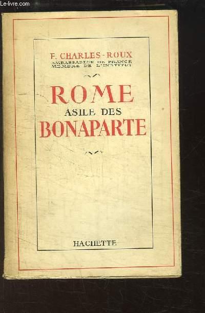 Rome, asile des Bonaparte