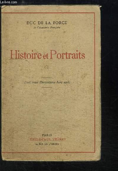 Histoire et Portraits