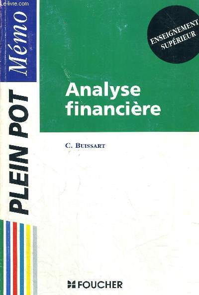ANALYSE FINANCIERE - ENSEIGNEMENT SUPERIEUR