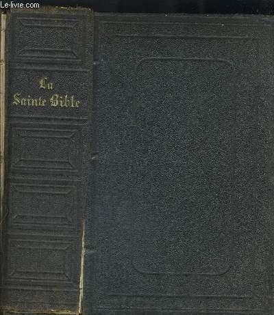 LA SAINTE BIBLE QUI CONTIENT L ANCIEN ETLE NOUVEAU TESTAMENT