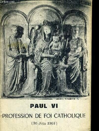PROFESSION DE FOI CATHOLIQUE