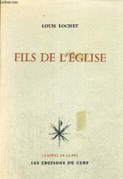FILS DE L EGLISE