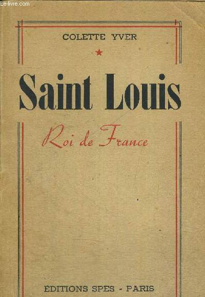 SAINT LOUIS - ROI DE FRANCE