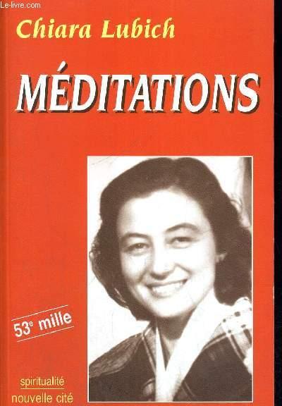 MEDITATIONS - 53 E MILLE