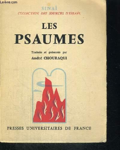 LES PSAUMES - SINAI - COLLECTION DES SOURCES D ISRAEL