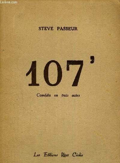 107 - COMEDIE EN TROIS ACTES