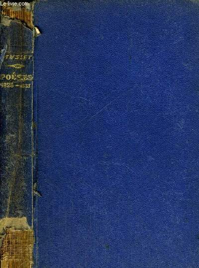 PREMIERES POESIES 1828 - 1833 - BIBLIOTHEQUE FRANCAISE VOL. XII