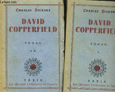DAVID COPPERFIELD - TOME I ET II EN 2 VOLUMES