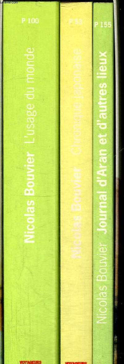 CHRONIQUE JAPONAISE - JOURNAL D ARAN - L USAGE DU MONDE - 3 VOLUMES DANS UN COFFRET